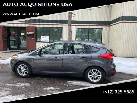 2016 Ford Focus for sale at AUTO ACQUISITIONS USA in Eden Prairie MN