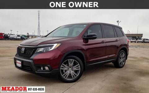 2020 Honda Passport for sale at Meador Dodge Chrysler Jeep RAM in Fort Worth TX