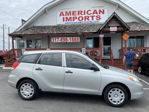 2003 Toyota Matrix for sale at American Imports INC in Indianapolis IN
