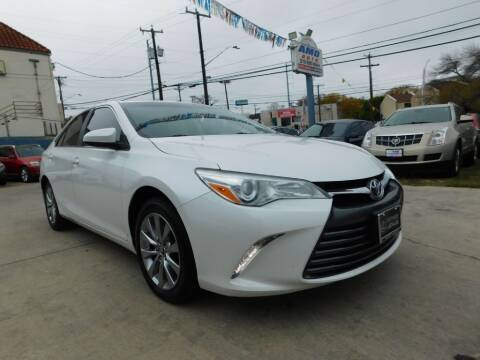 2015 Toyota Camry for sale at AMD AUTO in San Antonio TX