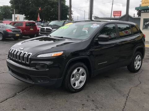 2014 Jeep Cherokee for sale at Capitol Auto Sales in Lansing MI
