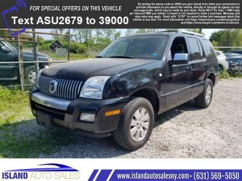2006 Mercury Mountaineer for sale at Island Auto Sales in E.Patchogue NY
