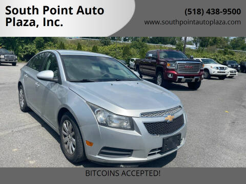 2011 Chevrolet Cruze for sale at South Point Auto Plaza, Inc. in Albany NY