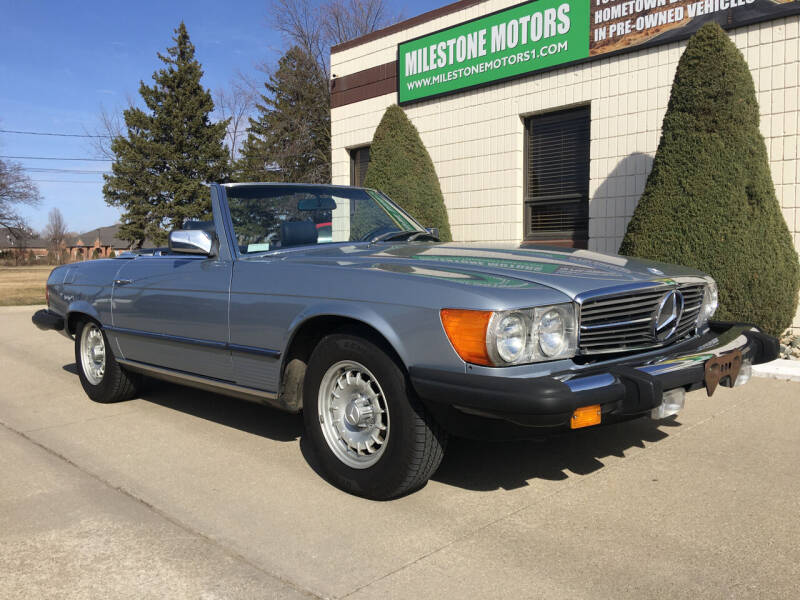 1983 Mercedes-Benz 380-Class for sale at MILESTONE MOTORS in Chesterfield MI
