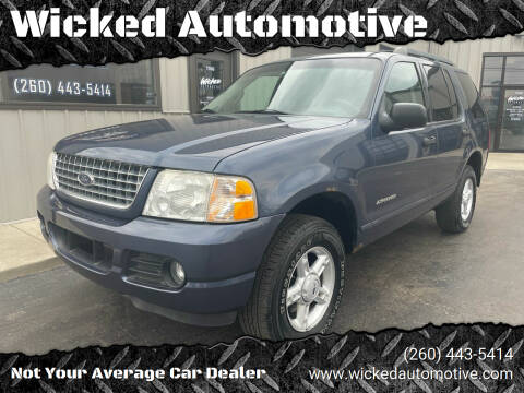 2005 Ford Explorer for sale at Wicked Automotive in Fort Wayne IN