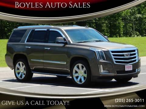 2016 Cadillac Escalade for sale at Boyles Auto Sales in Jasper AL