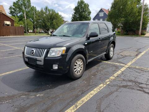 2008 Mercury Mariner for sale at USA AUTO WHOLESALE LLC in Cleveland OH
