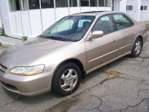 2000 Honda Accord for sale at Dambra Auto Sales in Providence RI