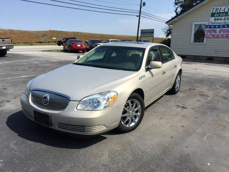 2008 Buick Lucerne for sale at Tri-County Auto Sales in Pendleton SC