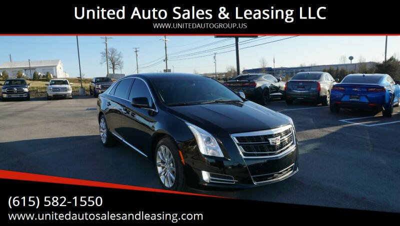 2017 Cadillac XTS for sale at United Auto Sales & Leasing LLC in La Vergne TN
