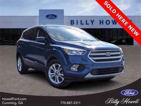 2017 Ford Escape for sale at BILLY HOWELL FORD LINCOLN in Cumming GA