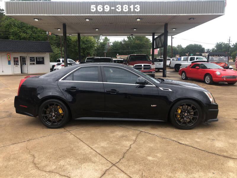 2013 Cadillac CTS-V for sale at BOB SMITH AUTO SALES in Mineola TX