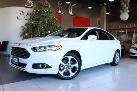 2015 Ford Fusion for sale at Quality Auto Center in Springfield NJ