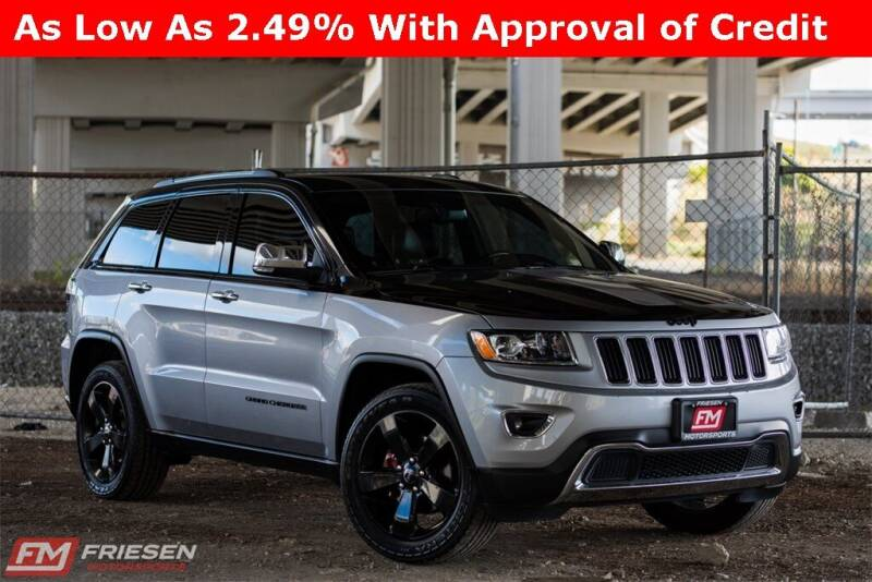 2015 Jeep Grand Cherokee for sale at Friesen Motorsports in Tacoma WA