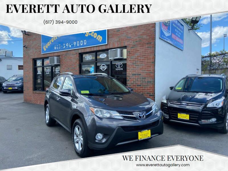 2013 Toyota RAV4 for sale at Everett Auto Gallery in Everett MA
