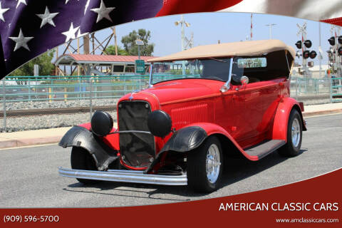1932 Ford Phaeton 4-Door for sale at American Classic Cars in La Verne CA