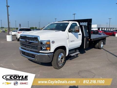 2019 Chevrolet Silverado 6500HD for sale at COYLE GM - COYLE NISSAN - New Inventory in Clarksville IN