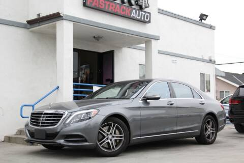 2016 Mercedes-Benz S-Class for sale at Fastrack Auto Inc in Rosemead CA
