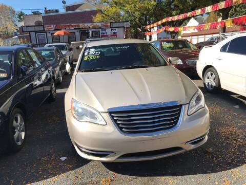 2013 Chrysler 200 for sale at Chambers Auto Sales LLC in Trenton NJ