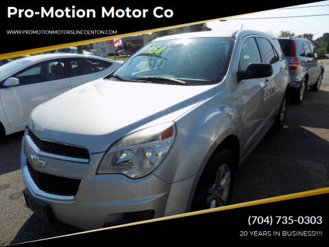 2014 Chevrolet Equinox for sale at Pro-Motion Motor Co in Lincolnton NC