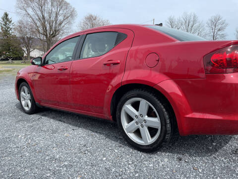 2013 Dodge Avenger for sale at CESSNA MOTORS INC in Bedford PA