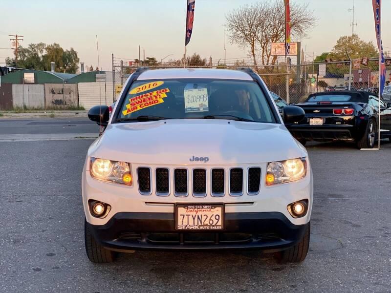 2016 Jeep Compass for sale at Stark Auto Sales in Modesto CA