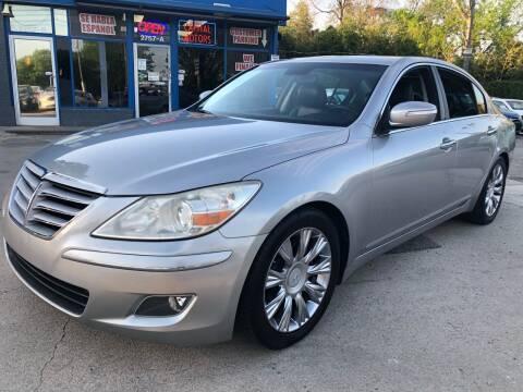 2011 Hyundai Genesis for sale at Capital Motors in Raleigh NC