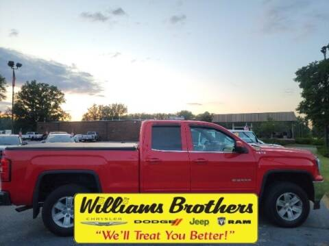 2016 GMC Sierra 1500 for sale at Williams Brothers - Pre-Owned Monroe in Monroe MI