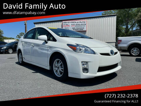 2011 Toyota Prius for sale at David Family Auto in New Port Richey FL