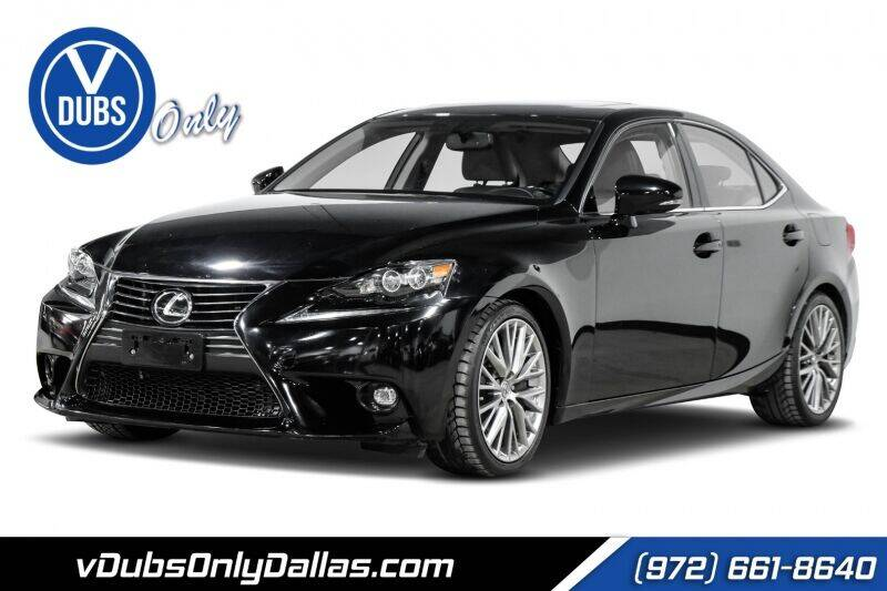 2016 Lexus IS 300 for sale at VDUBS ONLY in Dallas TX