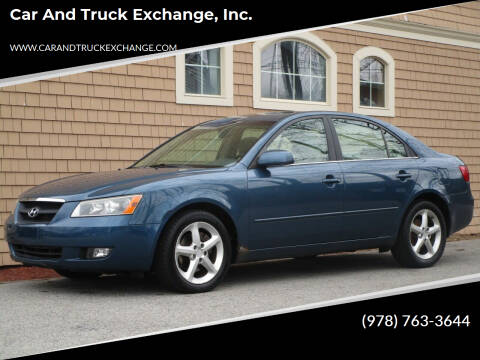 2006 Hyundai Sonata for sale at Car and Truck Exchange, Inc. in Rowley MA