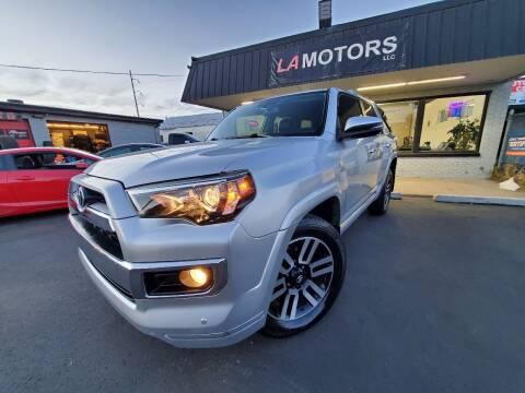 2016 Toyota 4Runner for sale at LA Motors LLC in Denver CO