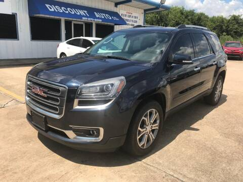 2015 GMC Acadia for sale at Discount Auto Company in Houston TX