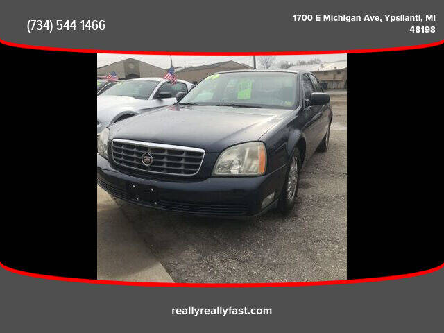 2004 Cadillac DeVille for sale at Fast Car Automotive in Ypsilanti MI