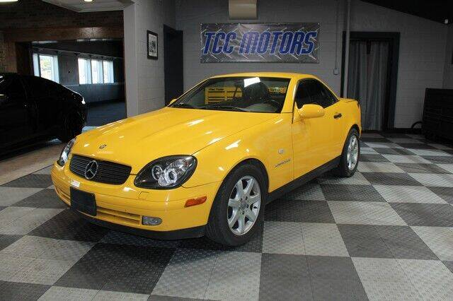 1998 Mercedes-Benz SLK for sale at TCC Motors in Farmington Hills MI