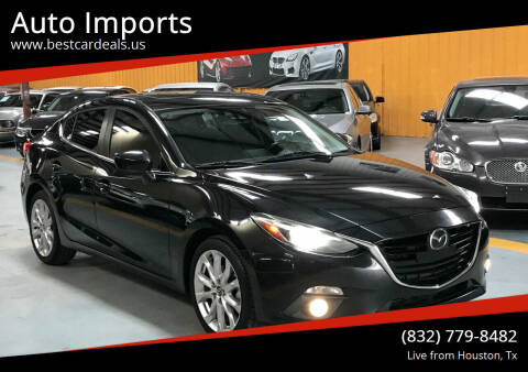 2014 Mazda MAZDA3 for sale at Auto Imports in Houston TX