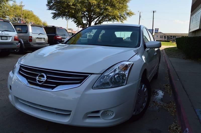 2010 Nissan Altima for sale at E-Auto Groups in Dallas TX