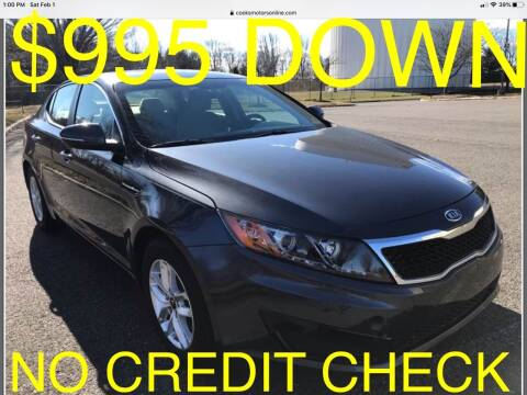 2011 Kia Optima for sale at Cooks Motors in Westampton NJ