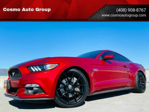 2017 Ford Mustang for sale at Cosmo Auto Group in San Jose CA