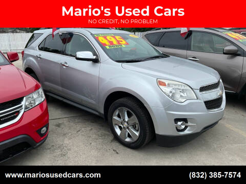 2015 Chevrolet Equinox for sale at Mario's Used Cars - South Houston Location in South Houston TX