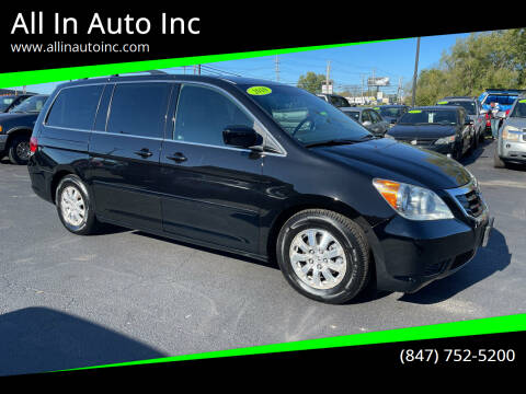 2010 Honda Odyssey for sale at All In Auto Inc in Palatine IL