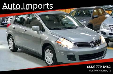 2011 Nissan Versa for sale at Auto Imports in Houston TX