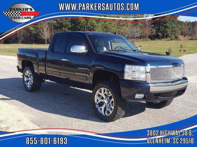 2008 Chevrolet Silverado 1500 for sale at Parker's Used Cars in Blenheim SC