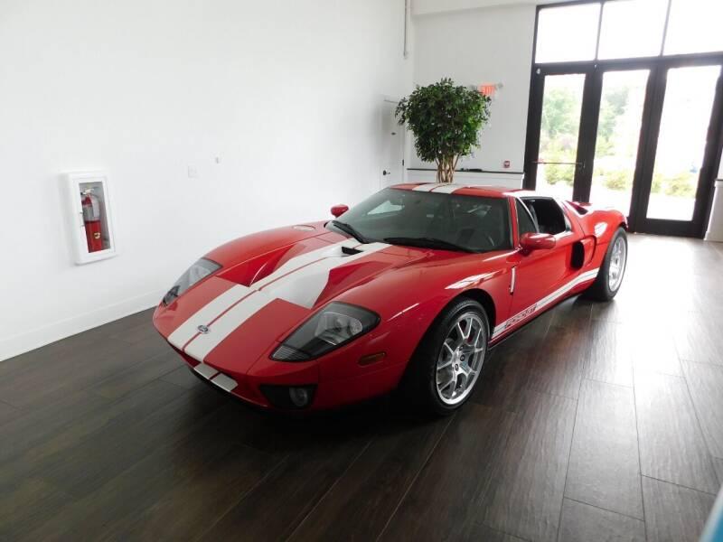 2006 Ford GT for sale at Shedlock Motor Cars LLC in Warren NJ