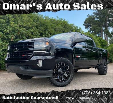 2018 Chevrolet Silverado 1500 for sale at Omar's Auto Sales in Martinez GA