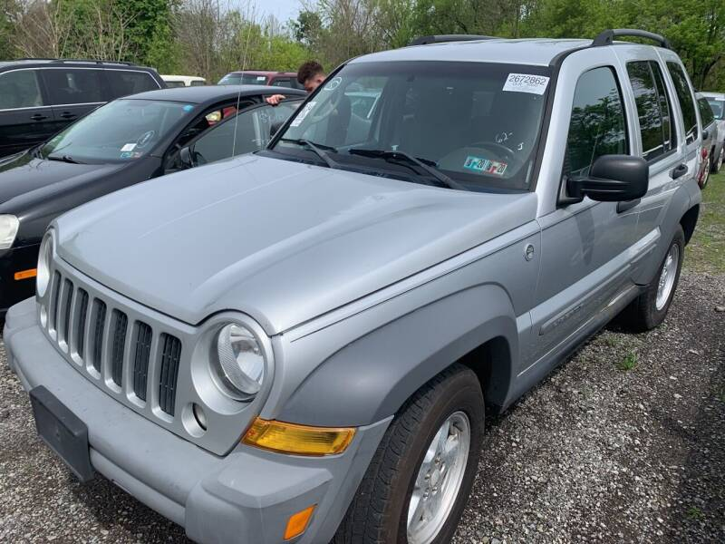 2005 Jeep Liberty for sale at Trocci's Auto Sales in West Pittsburg PA