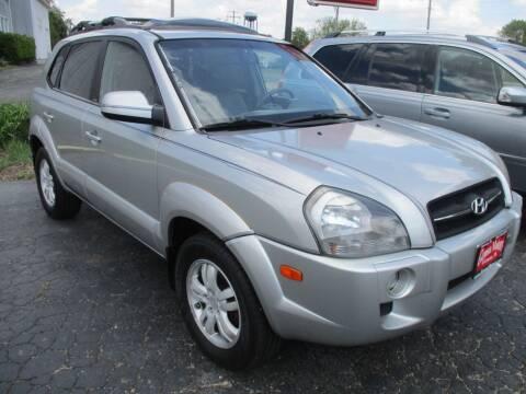 2007 Hyundai Tucson for sale at GENOA MOTORS INC in Genoa IL