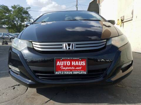 2010 Honda Insight for sale at Auto Haus Imports in Grand Prairie TX