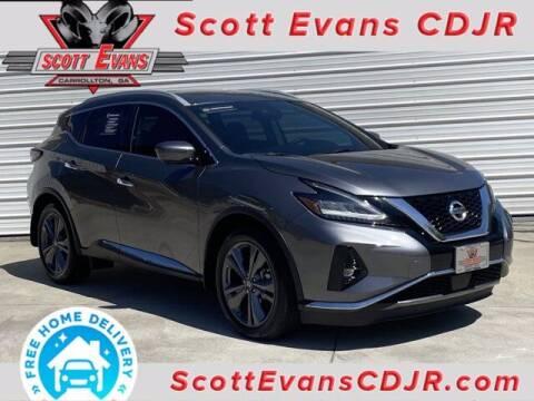 2020 Nissan Murano for sale at SCOTT EVANS CHRYSLER DODGE in Carrollton GA