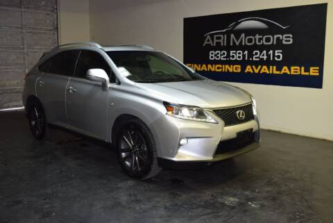 2015 Lexus RX 350 for sale at ARI Motors in Houston TX